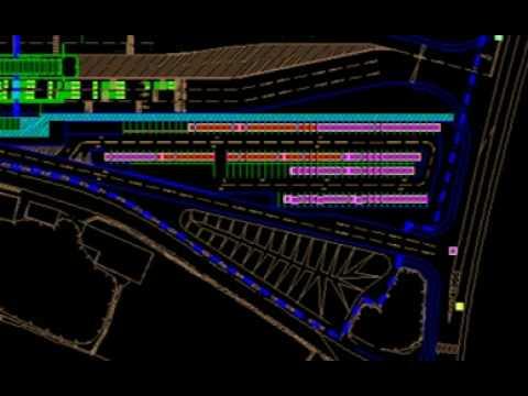 Inbound Transport Flow Simulation