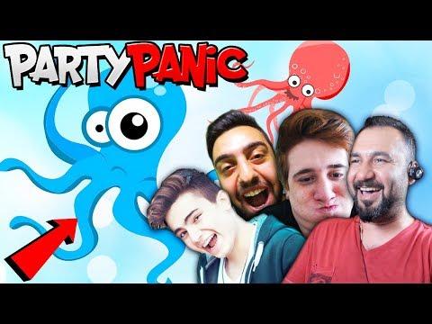AHTAPOT DELİRDİ! | EKİPLE PARTY PANIC (furkanyamanhd-gereksizoda-ümidi)
