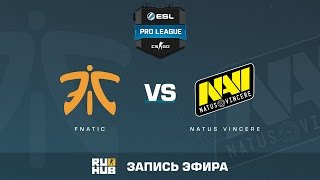 fnatic vs. Natus Vincere - ESL Pro League S5 - de_mirage [ceh9, yxo]