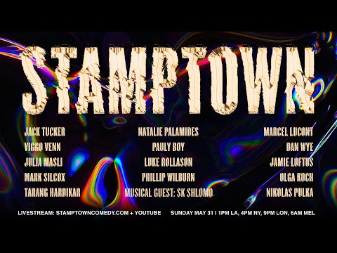STAMPTOWN COMEDY NIGHT | Episode 2 (May 31, 2020)