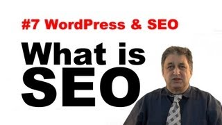 #7 SEO Tutorials For Beginners   WordPress&Search Engine Optimization