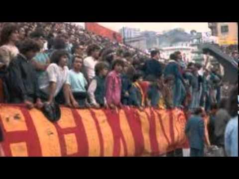 i cori della curva sud roma