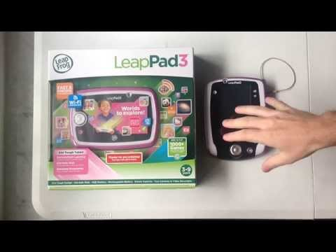 LeapPad3 Review - Unboxing