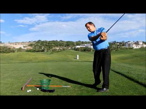 GOLF LESSONS – DOWNSWING – COME INSIDE 2 (FIX OVER THE TOP, SLICE)