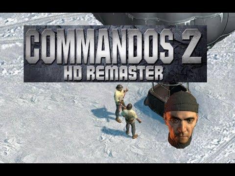 🐵 Commandos 2 - HD Remaster | (White Death) 🐵