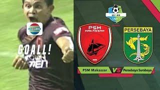 Goal Rizky Pellu - PSM Makassar (1) vs Persebaya Surabaya (0) Go-Jek Liga 1