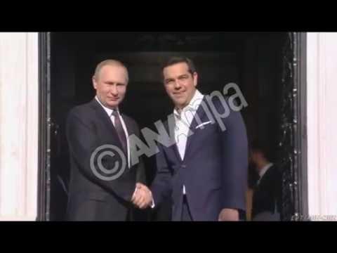 Αλ. Τσίπρας: Στρατηγική επιλογή μας η ενίσχυση των ελληνορωσικών σχέσεων