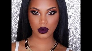 Vampy Makeup Tutorial - YouTube
