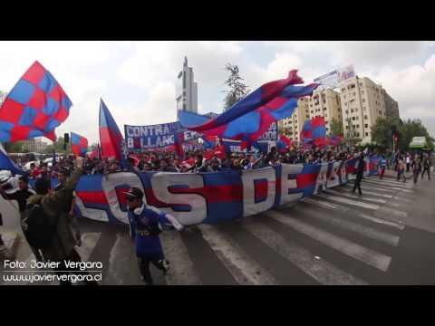 Video - Los De Abajo - Marchando por La Alameda - Los de Abajo - Universidad de Chile - La U - Chile