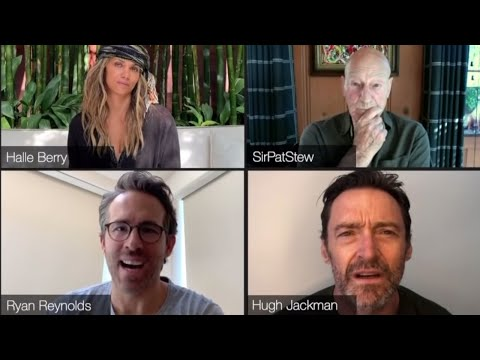 Ryan Reynolds Hilariously Crashes Original X-Men Reunion With Hugh Jackman Patrick Stewart