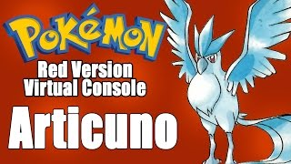 Catching Articuno! (Pokemon Red Virtual Console) by SkulShurtugalTCG