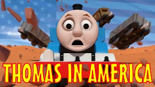 TOMICA Thomas & Friends Short 43: Thomas in America Video