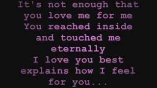 Download Lagu Because of You - Keith Martin [w/ Lyrics] Mp3