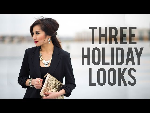 3 Holiday Looks Christmas New Years Eve Outfit Ideas Miss Louie | Mp3FordFiesta.com