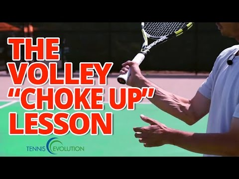 TENNIS VOLLEY GRIP | The Correct Tennis Volley Grip