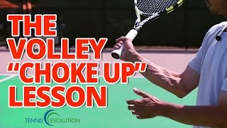 Tennis Highlights, Video - TENNIS VOLLEY GRIP | The Correct Tennis Volley Grip