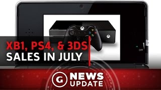 Xbox One Topped PS4 in July, But 3DS Beat Them Both - GS News Update by GameSpot