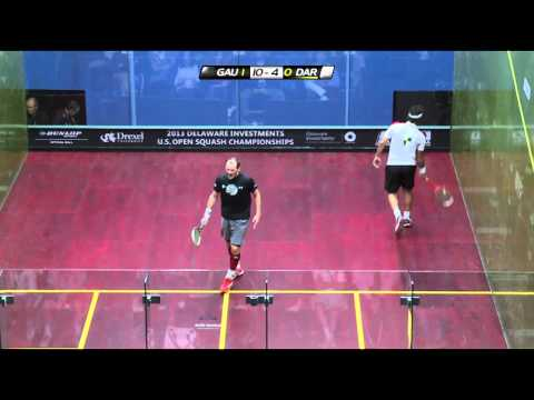 Squash : 2013 Delaware Investments U.S. Open PSA SF roundup Gaultier v Darwish