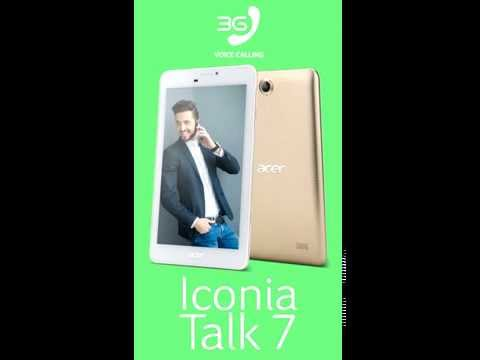Acer Iconia TALK 7 (B1-723) Android Tablet 7 inch (Gold)