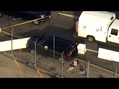 FBI investigating shooting outside NSA headquarters