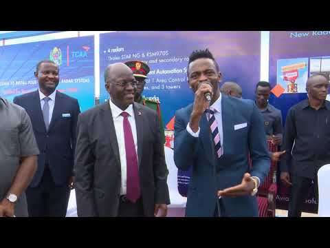 Diamond Platnumz sings ´My Number One´ Song near President John P. Magufuli