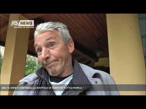 06/11/2019 | CONTINUA LA RAFFICA DI FURTI IN TUTTA MARCA