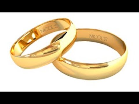 Wedding Ring Band - How It´s  Made Gold Platinum