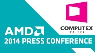 Hear from Lisa Su, Sr. VP and GM of Global Business Units, AMD and guests during AMD's Computex 2014 press conference. Check out our newest YouTube channel, ...