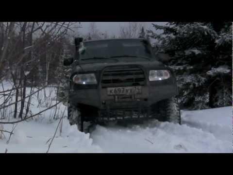 Страшная сказка про ГАЗ-66 и УАЗ Pаtriot