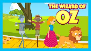 THE WIZARD OF OZ  Fairy Tales And Bedtime Story For Children In English  Animation For Kids