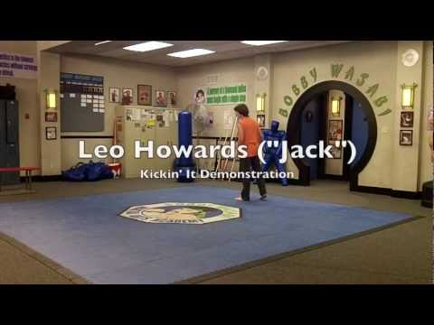 "Kickin' It: Leo Howard (""Jack"") Martial Arts Demonstration (Feb. 2012)"