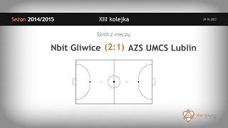NBIT Gliwice - AZS UMCS Lublin (13 kolejka) - skrót