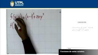 UTPL FUNCIONES DE VARIAS VARIABLES [(ECONOMÍA)(CÁLCULO II)]