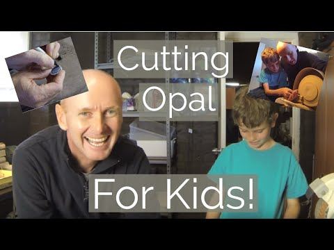Video: Teaching Kids to Cut Opal