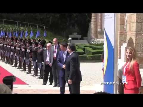 Incontro Governo - Commissione Ue a Villa Madama