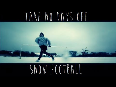 Freekicks – Take No Days Off | Snow Football/Soccer Training