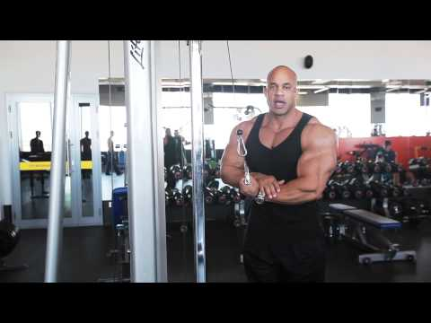 Triceps workout with Victor Martinez