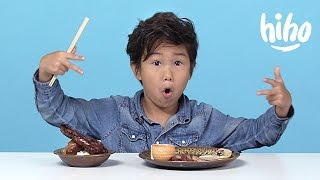 Video Chinese Food | American Kids Try Food from Around the World - Ep 6 | Kids Try | Cut MP3, 3GP, MP4, WEBM, AVI, FLV Desember 2018