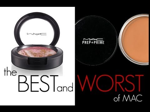 mac cosmetics - FOLLOW ME ON TWITTER! https://twitter.com/#!/gossmakeupartis BEST AND WORST MAC PRODUCTS! Despite Lauder taking over MAC and changing some of the original fo...