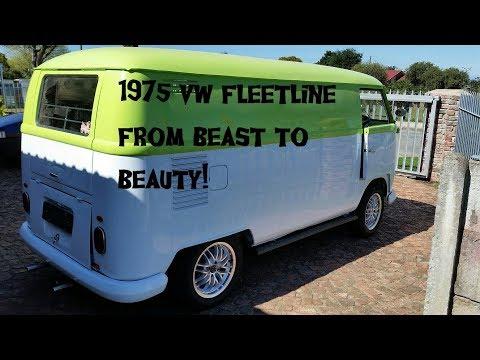 From Beast to Beauty! 1975 VW Fleetline