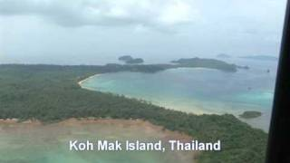 Koh Mak (Trad) Thailand  city photo : Koh Mak Bird's Eye View.mpg