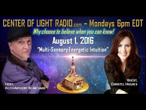 CENTER OF LIGHT RADIO - Christel Hughes: \