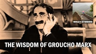 Video The Wisdom of Groucho Marx - Famous Quotes MP3, 3GP, MP4, WEBM, AVI, FLV Juni 2018