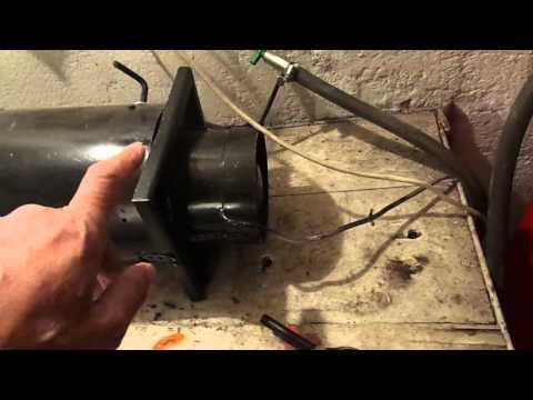 Как сделать тепловую пушку своими руками видео - Svbur.ru