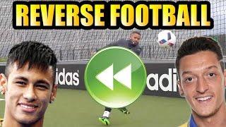 REVERSE FOOTBALL   ft. NEYMAR JR & OZIL, neymar, neymar Barcelona,  Barcelona, chung ket cup c1, Barcelona juventus