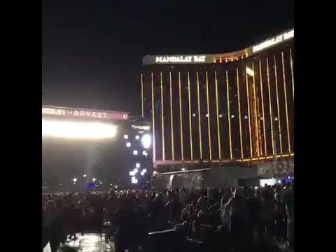 מחבל פותח בירי באמצע הופעה בלאס וגאס