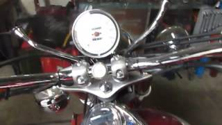 10. Triumph Bonneville America 2002 engine test run