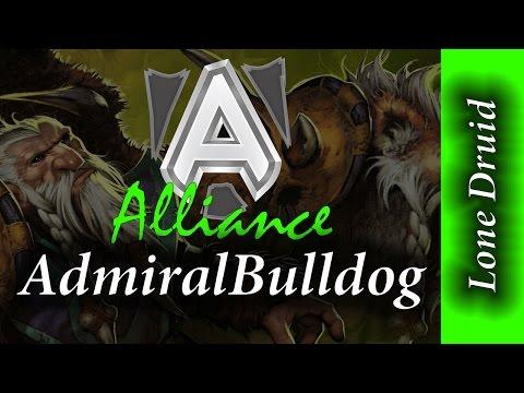 28:10 Alliance AdmiralBulldog Lone Druid 7K MMR Full Game Dota 2