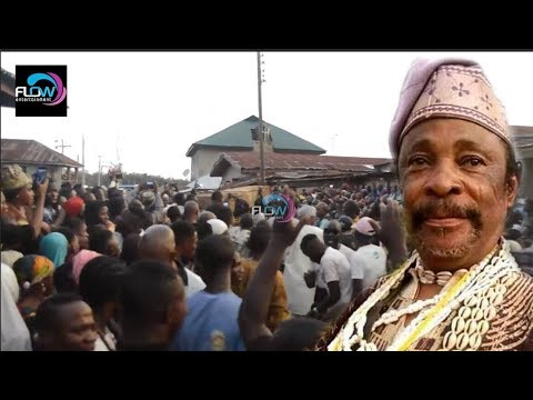SEE HOW VETERAN YORUBA ACTOR DAGUNRO BURIED  IN OSUN STATE