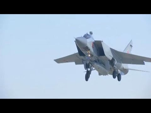 Τον υπερηχητικό πύραυλο Kinzhal παρουσίασε ο Βλαντιμίρ Πούτιν
